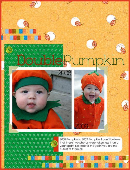 Double Pumpkin