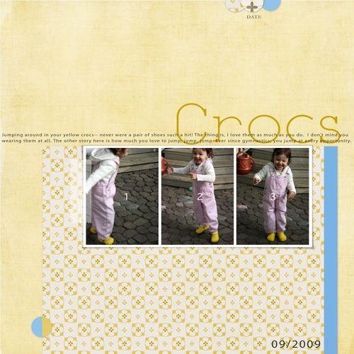 Crocs copy