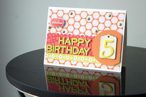 And Sew On Happy Birthday Scrapbook and Cards Today – Scrapbook Birthday Cards