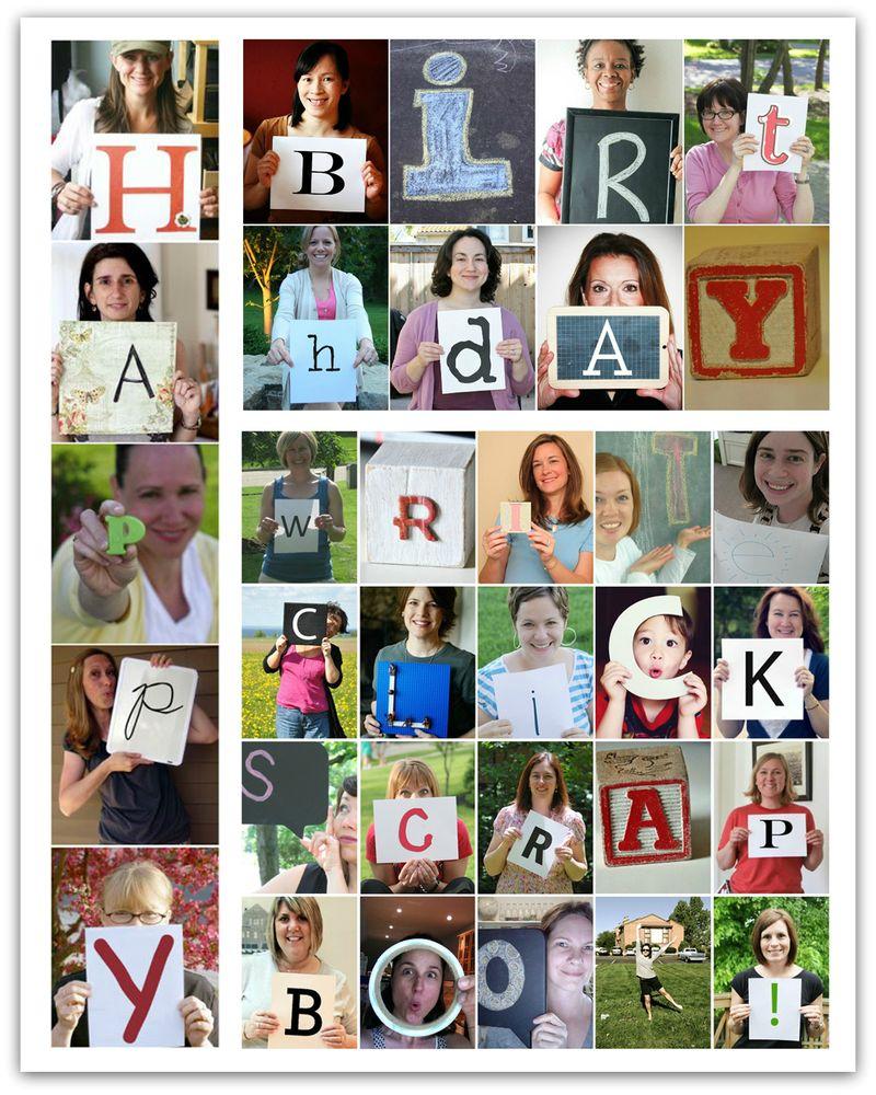 Write click scrapbook celebrates 2 years hooray